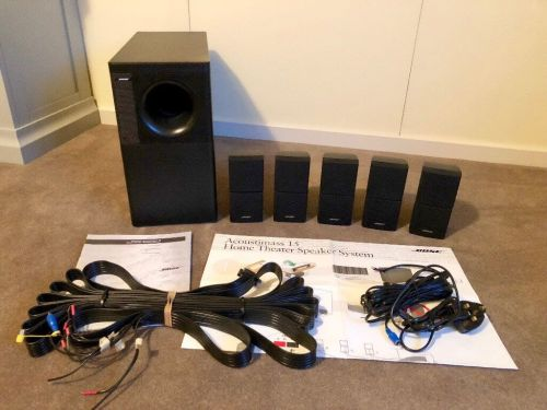 small resolution of bose acoustimass 15 home theatre speaker system