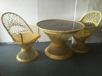 Vintage Garden Patio Furniture Set 2 chair 1 table RUSSELL ...