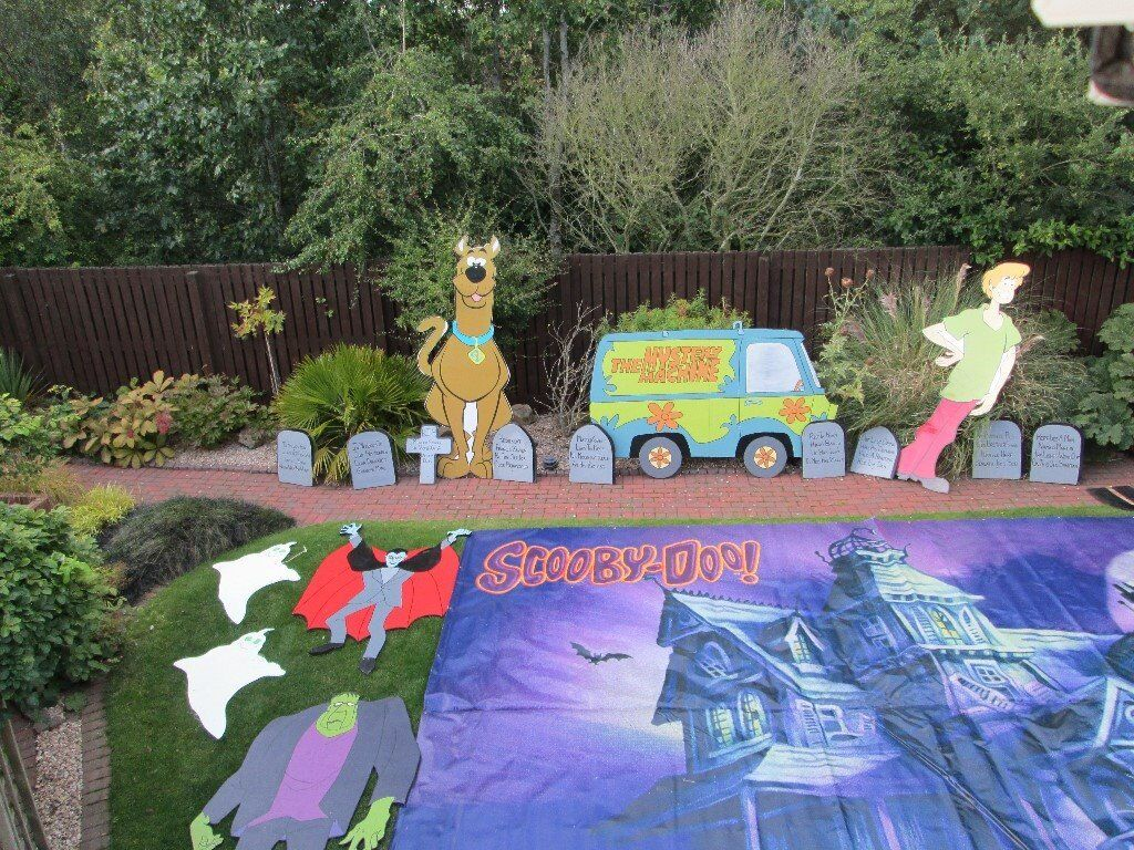Halloween Kids Party House Decorations Scooby Doo Theme - Fantastic One Of  A Kind