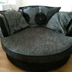 Snuggle Sofa And Swivel Chair Sofaore Nz Dfs Large 130cm In Ilford London