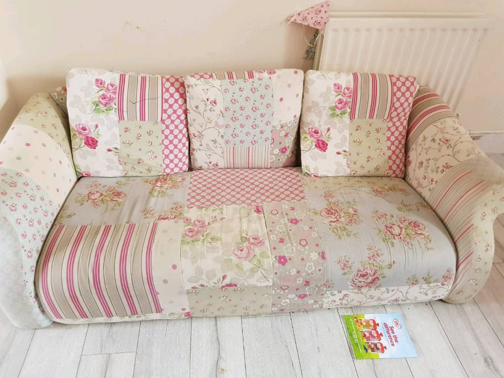 shabby chic sofa bed uk ava argos free in rugby warwickshire gumtree