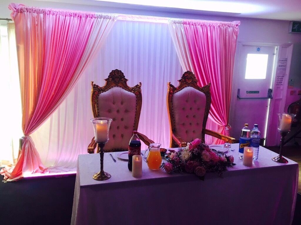 gumtree wedding chair covers for sale banana leaf cushion day decoration centrepieces backdrops