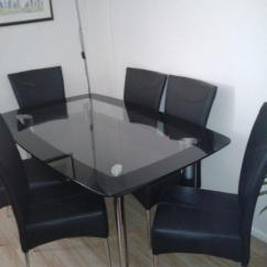 Dining Room Table And Chairs Gumtree Supreme Revolving Chair Price List 6 In Stoke On Trent