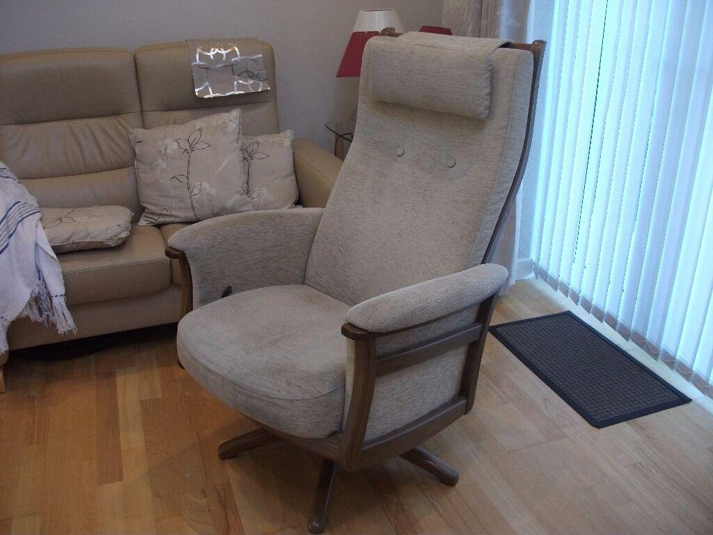recliner chairs gumtree hanging hammock chair ercol gina swivel golden dawn frame in