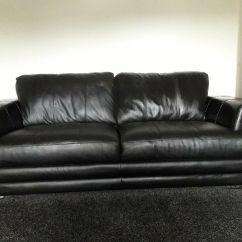 Black Leather Sofas On Gumtree Latex Sofa Canada 2 X 4 Seater In Bearsden Glasgow