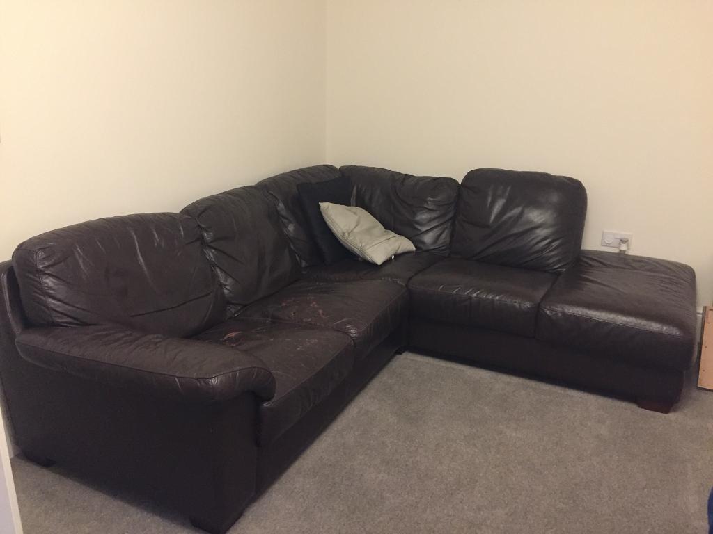 leather sofa sale raleigh nc red microfiber chaise corner free in radyr cardiff gumtree