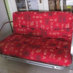 Fold Away Single Chair Bed Hair Style Steel Frame Futon Sofa In Newry County