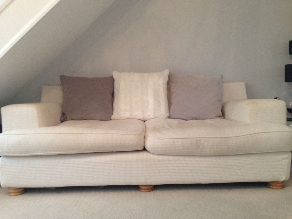 sofa with removable washable covers modern sleeper queen cream buy or sell find it used