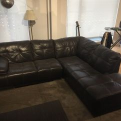 Corner Sofas Glasgow Gumtree How To Fix Ripped Leather Sofa Brown Maxim Rhs In East End