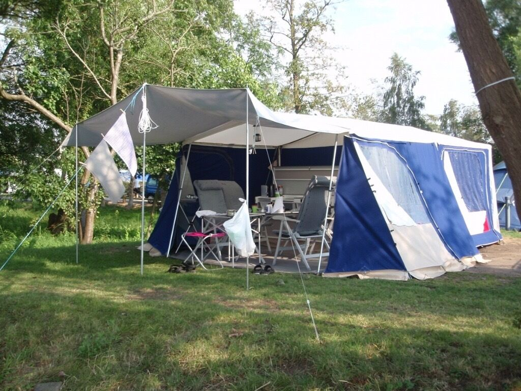 chair covers morecambe beach backpack chairs combi camp venezia 6 berth trailer tent for sale in