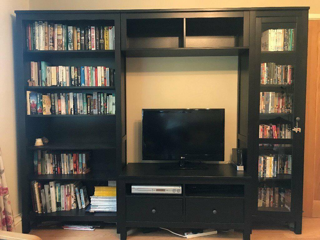 Ikea Hemnes Bookcase And Tv Stand Storage Combination In Harpenden Hertfordshire Gumtree