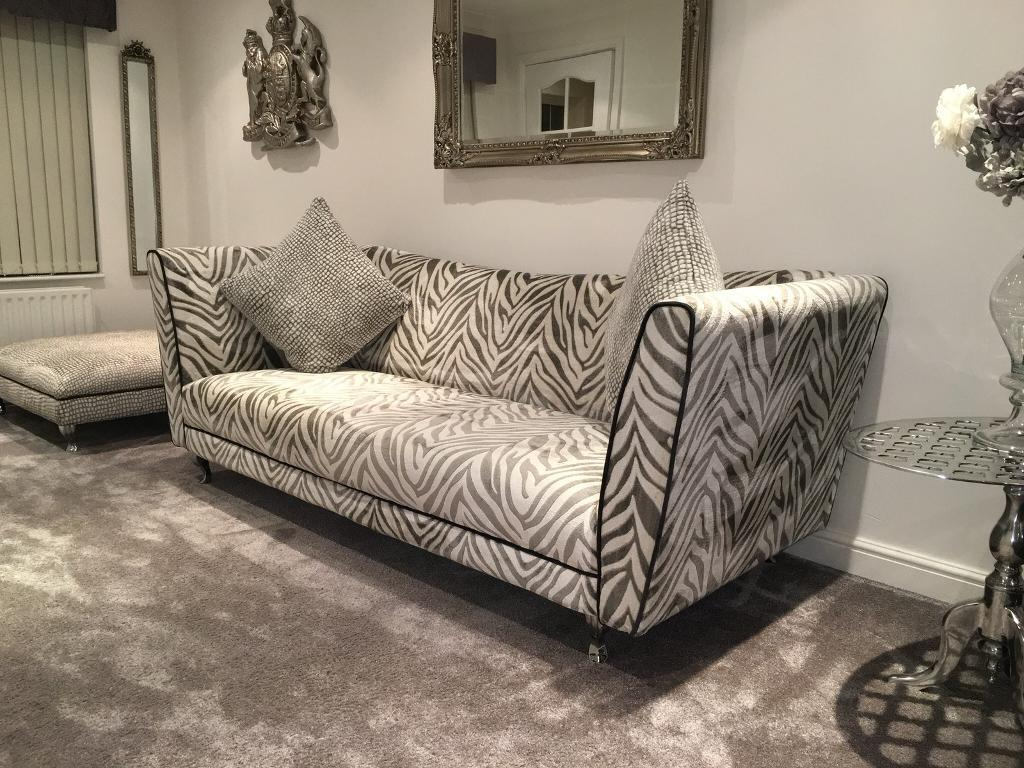 tiger print sofa set flared arm prints in scotland sofas armchairs