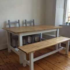 Drop Leaf White Kitchen Table Extractor Fan Ikea Norden Extendable Dining Table, Bench And 2 ...
