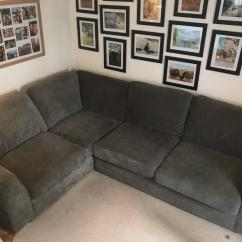 Dfs Corner Sofa Grey Fabric Bed King Size In East Dulwich London Gumtree
