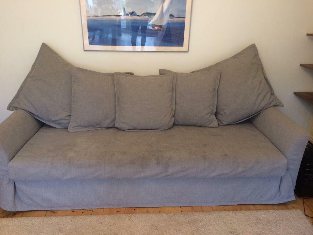 3 seater sofa beds shabby chic sectional bed from ikea holmsund in fishponds