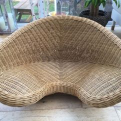 Posture Chair Gumtree Cream Puff Swivel Lotus Meditation Wicker Rattan In