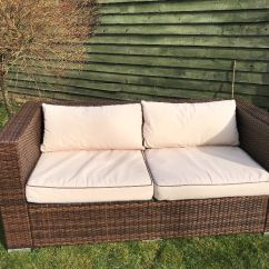 Oxford 4 Piece Brown Rattan Effect Sofa Set Macys Leather Sectional Outdoor Royal Synthetic