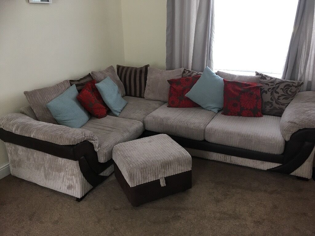 love your home corner sofa cindy crawford storage friheten bed with