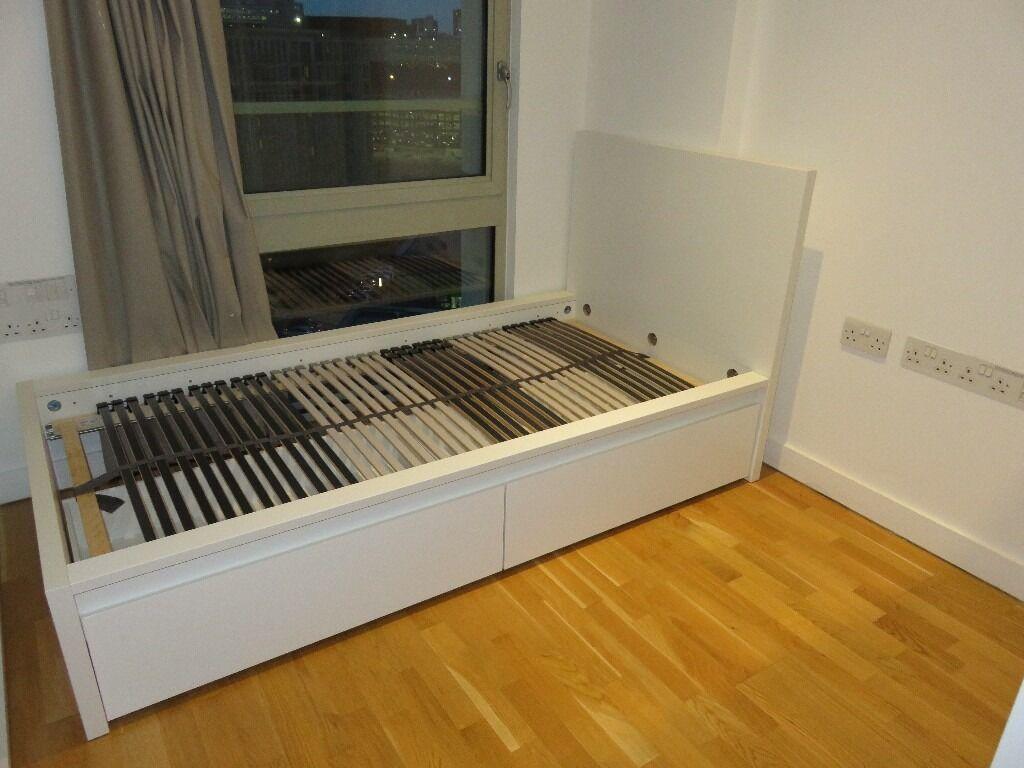 bed frame metal ikea myfashionwishes. Black Bedroom Furniture Sets. Home Design Ideas