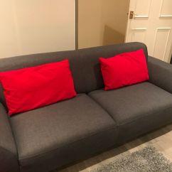 Sofa London Gumtree Discount Pillows Dfs Charcoal 1 Year Old In Kilburn
