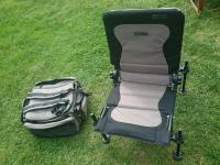 Korum deluxe ruckbag and korum accessory chair | in ...