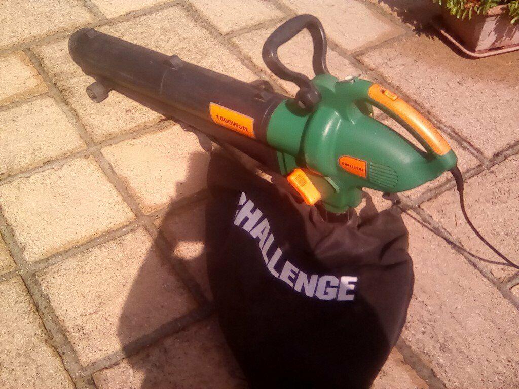 leaf blower vac corded