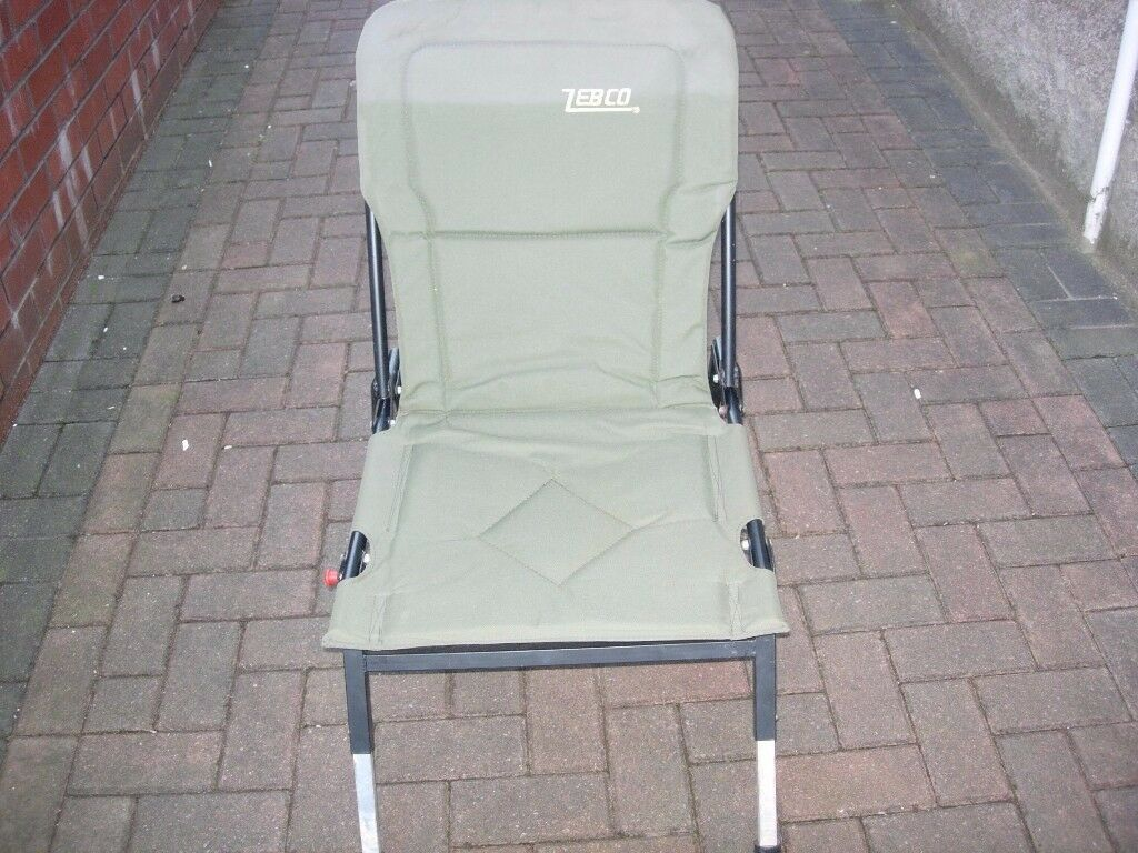 zebco fishing chair exercise office adjustable legs in birchgrove cardiff gumtree