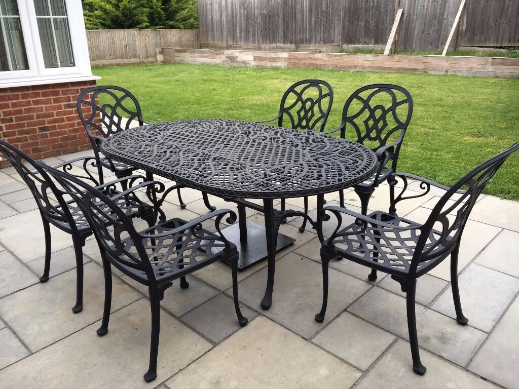 Patio Furniture Table And Chairs Nova Heritage Cast Aluminium Outdoor Table And Chairs Set