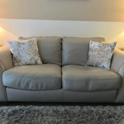 Swivel Chair Uk Gumtree Massage Ratings And Reviews Incanto Italian Leather Sofa, 2 X Seater, Light Taupe, Foam & Feather Seats | In Uddingston ...