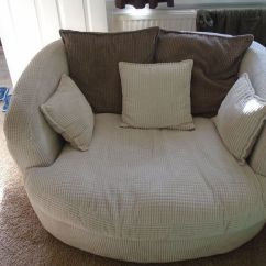 Swivel Chair Uk Gumtree Arm Chairs Scs Cord Cuddle For Sale In Llangennech