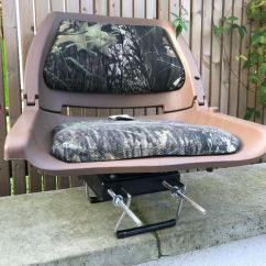 Fishing Chair Clamps Upholstered Folding Chairs Mossy Oak Boat Seat In County Antrim Gumtree