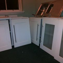 Used Kitchen Cabinet Doors Portable Island With Granite Top Cabinets And Base Units X2 Wall X 3