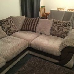 Chair Covers And More Norfolk Double Folding Dfs Corner Sofa Cuddle Footstool In Norwich