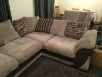 DFS corner sofa/cuddle chair and footstool   in Norwich ...