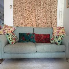 Ikea Karlstad Sofa Covers Uk Corner With Console Duck Egg Blue Colour Laura Ashley | In Ormeau Road ...