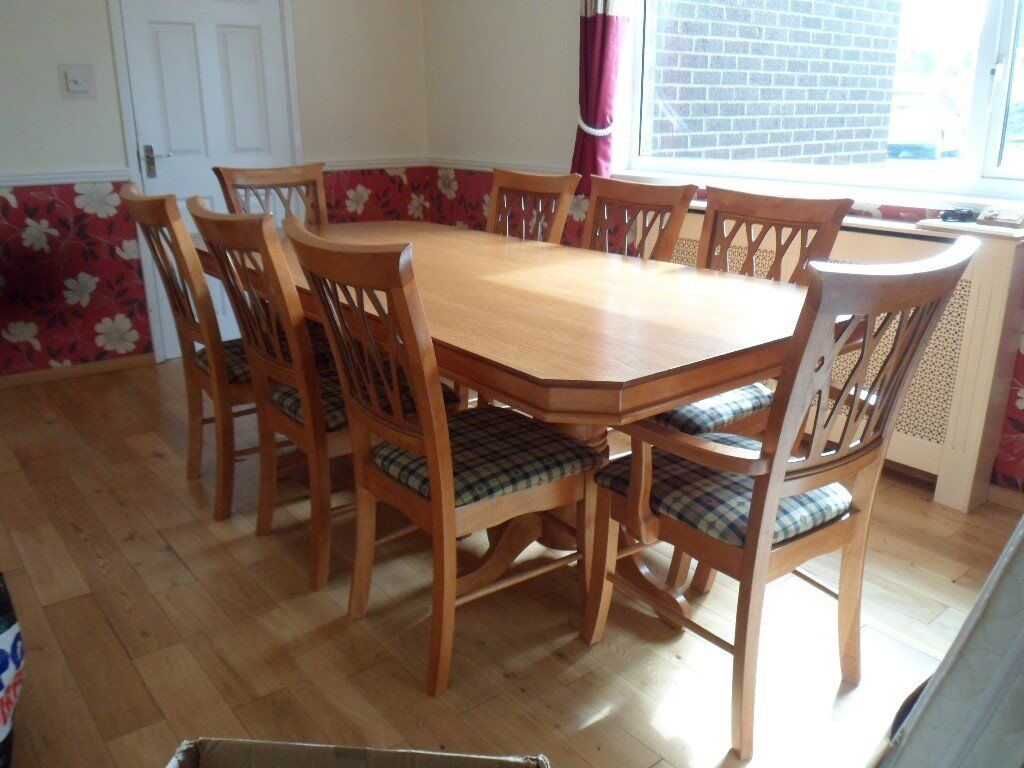 dining room table and chairs gumtree gardman garden chair covers 8 in nailsea bristol