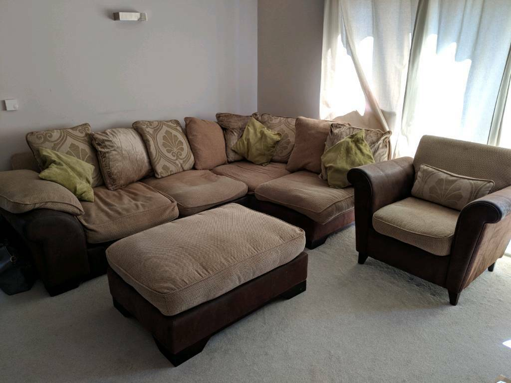 corner sofa dfs martinez repairs in bangalore with footstall sold christchurch