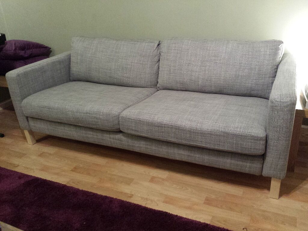 Karlstad Sofa Ikea Karlstad 2 Seater Sofa In Light Grey In Putney