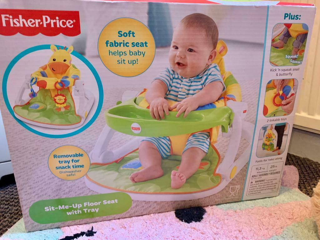 fisher price sit and play chair home theater chairs india me up floor seat giraffe in south croydon london