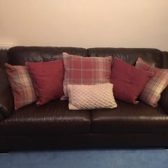 4 Seater Recliner Sofa Down Filled Canada Leather Sterling Furniture In Lesmahagow