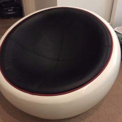 Egg Chair Pod Wh Gunlocke Co Ball By Eero Aarnio In Fiberglass And