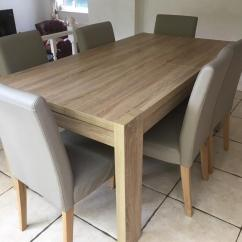 Dining Room Table And Chairs Gumtree Oversized Outdoor Next Furniture Full Set