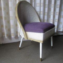Bedroom Chair Retro Patio Dining Cushions Canada Vintage Lloyd Loom Style Padded
