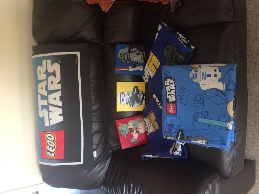 NEXT LEGO STAR WARS BEDDING & CURTAINS In Falkirk Gumtree