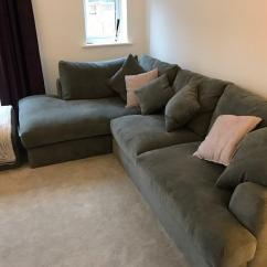 Chesterfield Leather Sofa For Sale Large Covers Cheap Next Stratus 2 Corner Chaise Left (mid French Grey ...