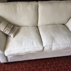 Fairmont Sofa Laura Ashley Red Leather Modular Sectional Lovely Cream By With Extra Cushion And Spare Upholstery