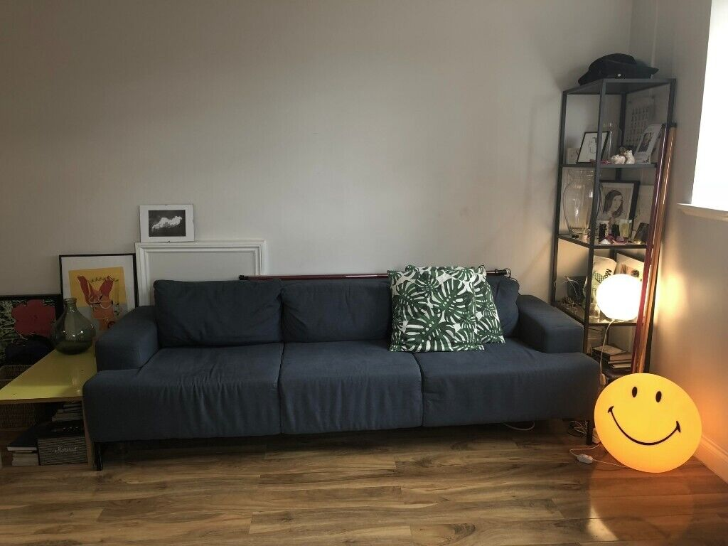 sofa london gumtree collection cardiff 3 seater made in blue south east