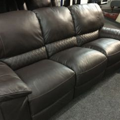 Electric Recliner Sofa Not Working Thayer Coggin Prices New Ex Display Lazyboy Leather Caravelle Large 3 4 Seater 70 Off Rrp