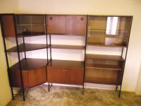 Avalon Retro Teak Ladderax Modular Shelving Units