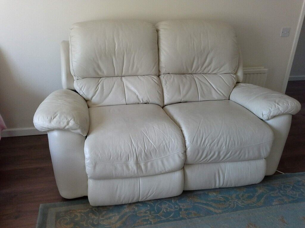 leona 3 seater recliner sofa raymour and flanigan loveseat electric power 2 seat leather settee in up hatherley